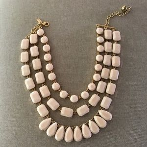Kate Spade Three layer statement necklace